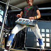 Family Force 5 performs at the Vans Warped Tour 2008