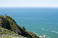 Muir Beach Overlook near San Francisco, California.
