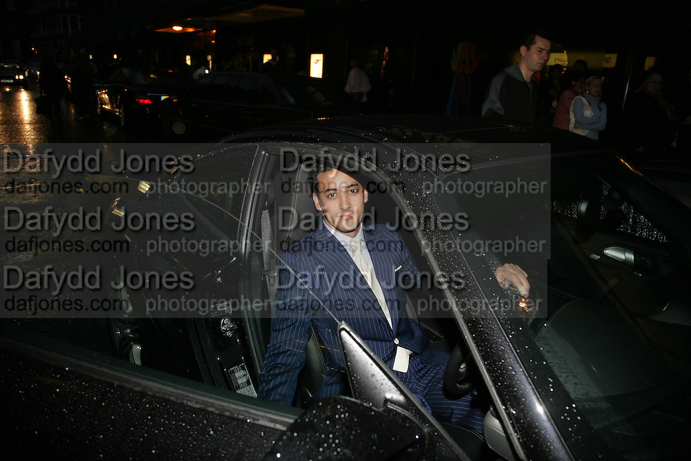 AMIR BOUSSEAU, De Grisogono &amp; Londino Car Rally  party. <br />