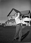 1952 - Ray Hayden, Professional Golfer at Woodbrook Golf Club