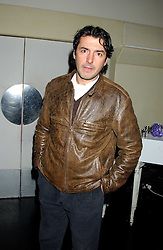 Chef JEAN-CHRISTOPHE NOVELLI  at a launch party for Kraken Opus's new luxury sports books held at Sketch, 9 Conduit Street, London W1 on 22nd February 2006.<br /><br />NON EXCLUSIVE - WORLD RIGHTS