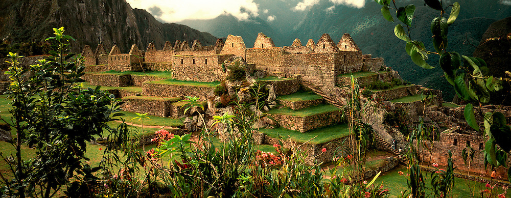 PERU, PREHISPANIC, INCA Machu Picchu; Common District