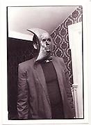 Pete Kyte, Fancy dress party. chelsea. 1988.