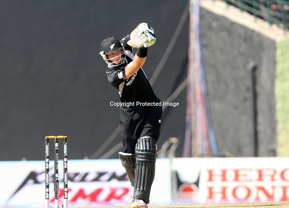 Martin Guptill batting at the ICC Cricket World Cup. New Zealand vs Paksitan.Pallekele Cricket Stadium, Kandy, Sri Lanka.Tuesday 8 March 2011. Photo: photosport.co.nz