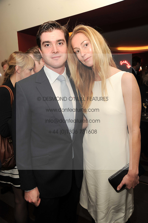A party to promote the exclusive Puntacana Resort &amp; Club - the Caribbean's Premier Golf &amp; Beach Resort Destination, was held at The Groucho Club, 45 Dean Street London on 12th May 2010.<br /> <br /> Picture Shows:- LORD &amp; LADY JAMES RUSSELL