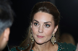 The Duchess of Cambridge attends a reception hosted by the British High Commissioner to Pakistan Thomas Drew CMG at the National Monument in Islamabad during the second day of the royal visit to Pakistan.