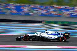 June 22, 2018 - Le Castellet, Var, France - Williams 18 Driver LANCE STROLL (CAN) in action during the Formula one French Grand Prix at the Paul Ricard circuit at Le Castellet - France (Credit Image: © Pierre Stevenin via ZUMA Wire)