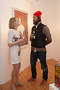 MELISSA DIGBY-BELL; ADRIAN PALENGAT, Pakpoom Silaphan 'Empire State' Opening Reception, Scream. Eastcastle St. London. 21 February 2013
