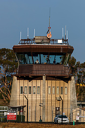 FAA air traffic control tower, Palo Alto Airport (KPAO), Palo Alto, California, United States of America