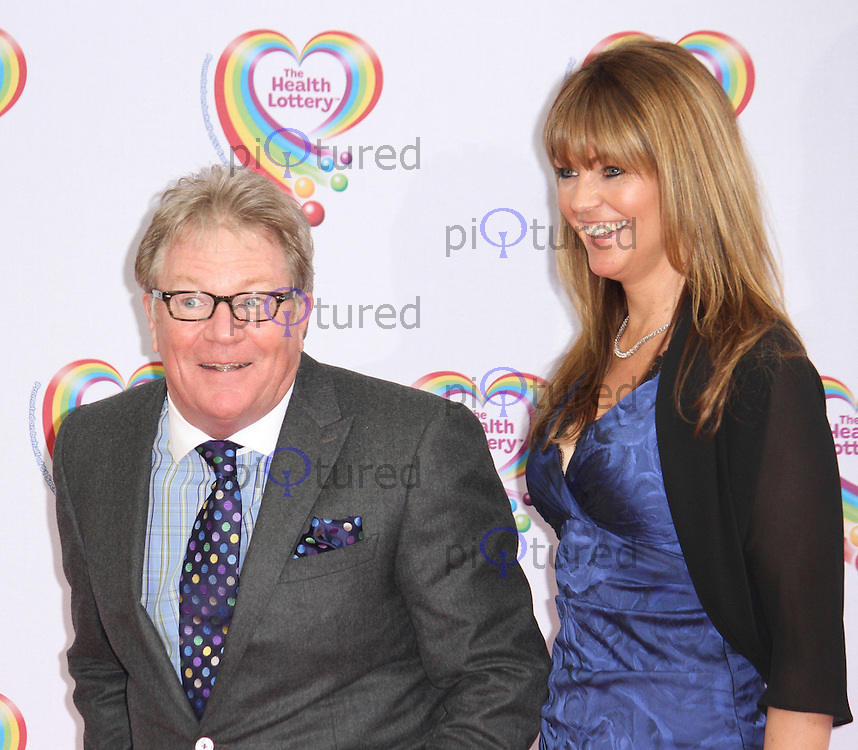 Jim Davidson & Michelle Cotton, Health Lottery Tea Party, The Savoy Hotel, London UK, 02 June 2014, Photo by Brett D. Cove