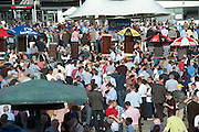 29/07/2014  Scene from  the Tuesday evening meeting of the Galway Summer racing Festival. Photo: Andrew Downes