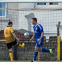 Picture by Christian Cooksey/CookseyPix.com.<br /> All rights reserved. For full terms and conditions see www.cookseypix.com<br /> <br /> Juniors - Auchinleck Talbot v Glenafton Athletic. Glenafton's Daniel Orsi celebrates scoring  the equaliser for 2-2 .