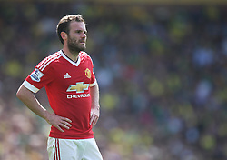 Juan Mata of Manchester United - Mandatory by-line: Jack Phillips/JMP - 07/05/2016 - FOOTBALL - Carrow Road - Norwich, England - Norwich City v Manchester United - Barclays Premier League