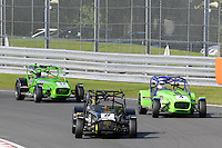 #8 Stephen Nuttall Caterham Superlight R300-S during the BookaTrack.com Caterham Superlight R300 Championship at Oulton Park, Little Budworth, Cheshire, United Kingdom. August 13 2016. World Copyright Peter Taylor/PSP.