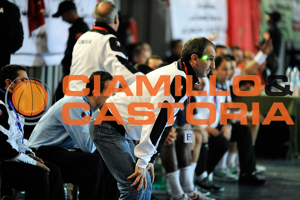 DESCRIZIONE : France Hand Coupe Afrique des Nations Homme Maroc Rabat<br /> GIOCATORE : Portes Alain Laser<br /> SQUADRA : Tunisie<br /> EVENTO : FRANCE Hand CAN<br /> GARA : Tunisie Maroc<br /> DATA :19/01/2012<br /> CATEGORIA : Hand CAN<br /> SPORT : Handball<br /> AUTORE : JF Molliere <br /> Galleria : France Hand 2011-2012 Reportage<br /> Fotonotizia : CAN Hand RABAT Maroc<br /> Predefinita :