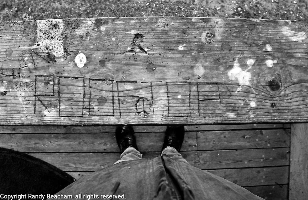 Randy AKA Rooftop, April 13, 2013. Yaak Valley Montana