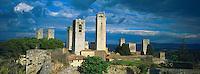 Italie, Toscane, Province de Sienne, Village de San Gimignano // Italy, Tuscany, Sienna province, San Gimignano village