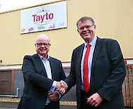 l-r, Phil Storer, Country director Pooling Partners and Nigel Smith, Supply Chain Director Tayto.