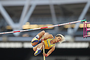Angelica Bengtsson during the IAAF World Championships at the London Stadium, London, England on 6 August 2017. Photo by Myriam Cawston.