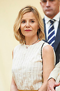 Eugenia Martinez de Irujo attend the Ceremony to mark the bicentennial of the founding of the Council of the Greatness of Spain at Palacio de El Pardo on June 16, 2015 in Madrid