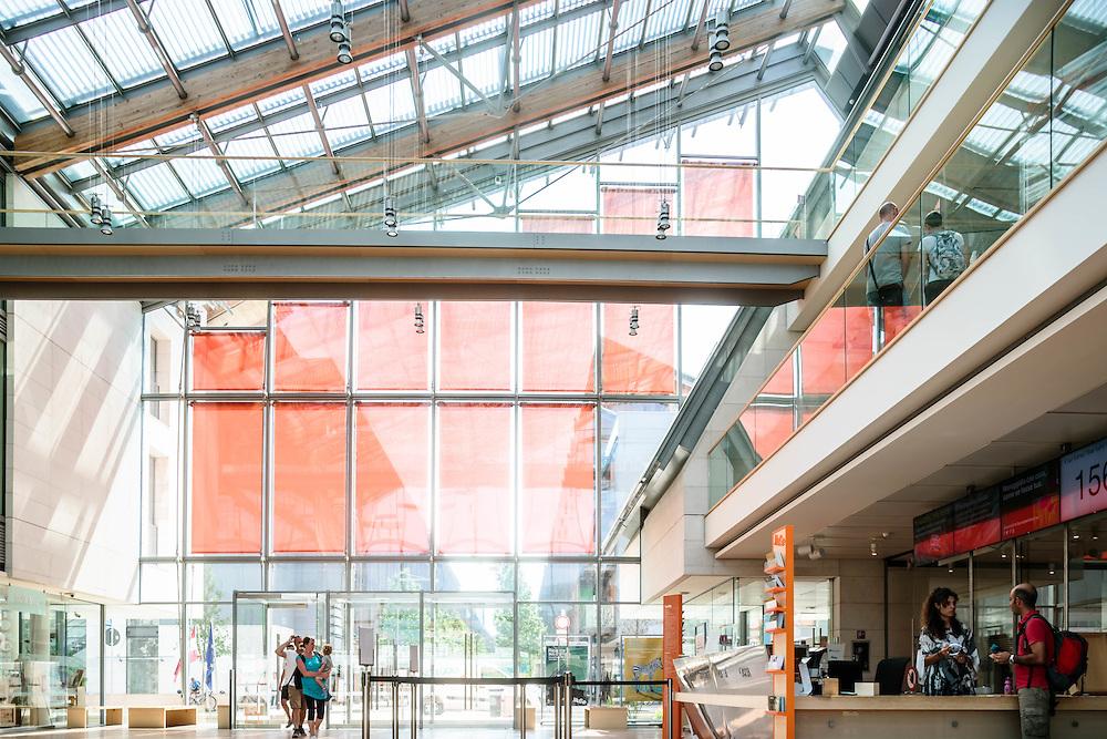 28 AUG 2015 - Trento - MUSE; Museo delle Scienze.
