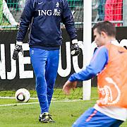 AUS/Seefeld/20100529 - Training NL Elftal WK 2010, keeper Maarten Stekelenburg