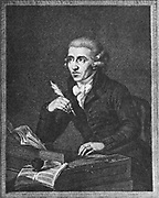 Franz Joseph Haydn 1732 – 1809, known as Joseph Haydn. Austrian composer, one of the most prolific and prominent composers of the classical period.