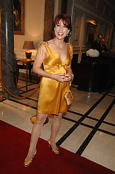 KATHY LETTE at a party to celebrate the 180th Anniversary of The Spectator magazine, held at the Hyatt Regency London - The Churchill, 30 Portman Square, London on 7th May 2008.<br />