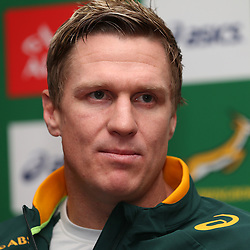 Stock images from 2014 South African management,Jean de Villiers (captain) during the South African National rugby team<br />  (Photo by Steve Haag)