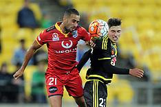 Wellington-Football, A-League, Phoenix v Adelaide United