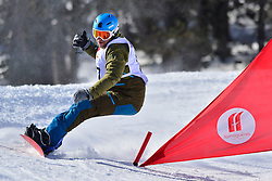 Europa Cup Finals Banked Slalom, ULTEE Mike, NED at the 2016 IPC Snowboard Europa Cup Finals and World Cup