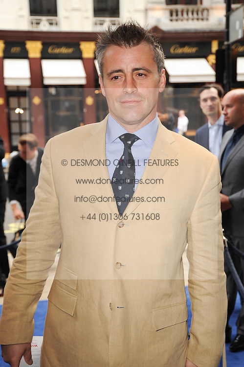 Matt LeBlanc at the Ralph Lauren Wimbledon Party held at Ralph Lauren, 1 New Bond Street, London on 17th June 2010.