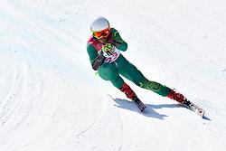 GOURLEY Mitchell LW6/8-2 AUS competing in ParaSkiAlpin, Para Alpine Skiing, Super G at PyeongChang2018 Winter Paralympic Games, South Korea.