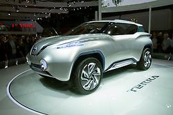 Nissan Terra hydrogen fuel-cell powered concept car at Paris Motor Show 2012