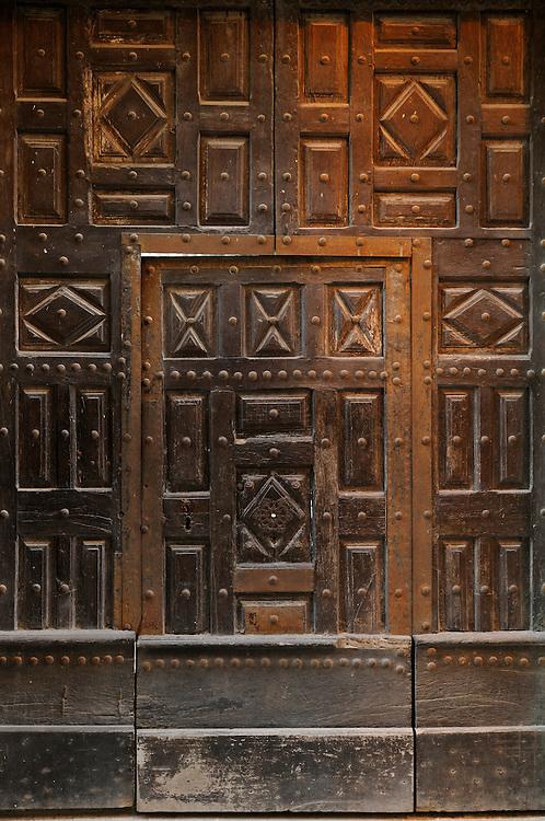 France, Languedoc Roussillon, Gard (30), Uzès, 28 rue du Docteur Blanchard, maison classée à l'inventaire supplémentaire des monuments historiques