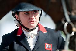 Natasha Baker riding Cabral in the Grade II Para-Dressage at the 2014 World Equestrian Games, Caen, Normandy, France.