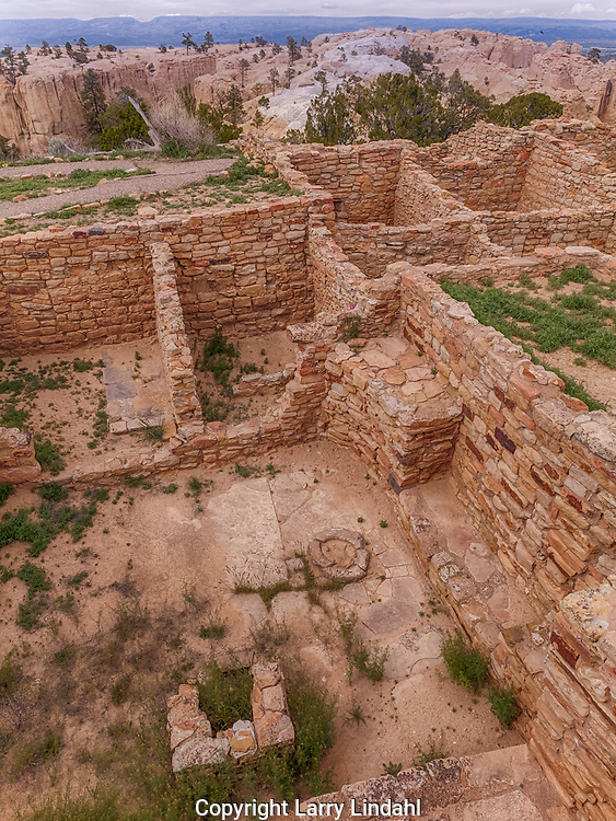 """El Morro National Monument, Atsinna pueblo, """"Place of writings on rock"""", 1275-1350 AD, 875 rooms, New Mexico"""