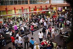 Movimento do público no Youpix Poa 2012, que acontece na ESPM, em Porto Alegre. FOTO: Emmanuel Denaui/Preview.com