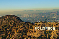 Hollywood sign atop Mount Lee