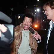 Start Starmaker Almere, Gijs Staverman in gesprek met Lionel Richie