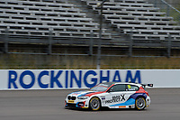 #55 Ricky Collard Team BMW BMW 125i M Sport during BTCC Race 1  as part of the Dunlop MSA British Touring Car Championship - Rockingham 2018 at Rockingham, Corby, Northamptonshire, United Kingdom. August 12 2018. World Copyright Peter Taylor/PSP. Copy of publication required for printed pictures.