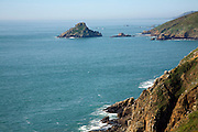 Islet of Grande Faunconniere from Island of Herm, Channel Islands, Great Britain