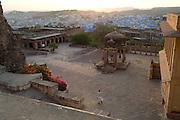 Views from Jodhpur Fort at sunset