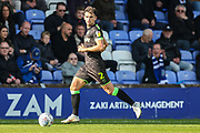 Forest Green Rovers Liam Shephard(2) runs forward during the EFL Sky Bet League 2 match between Macclesfield Town and Forest Green Rovers at Moss Rose, Macclesfield, United Kingdom on 29 September 2018.