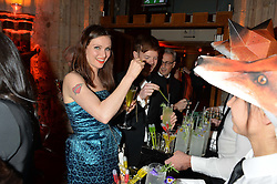 SOPHIE ELLIS-BEXTOR and RICHARD JONES at Save the Children's spectacular, black tie Winter Gala, a festive fundraising event held at London's Guildhall. Guests were transported into the magical world of the much-celebrated British novelist, Roald Dahl, in celebration of his centenary, for a marvellous evening of fine dining and gloriumtious entertainment to raise money to help transform children's lives across the world and here in the UK.