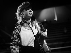 February 21, 2019 - Dubai, ARAB EMIRATES - Elina Svitolina of the Ukraine after winning her quarter-final match at the 2019 Dubai Duty Free Tennis Championships WTA Premier 5 tennis tournament (Credit Image: © AFP7 via ZUMA Wire)