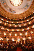 ARGENTINA, BUENOS AIRES Colon Theatre, seven story interior