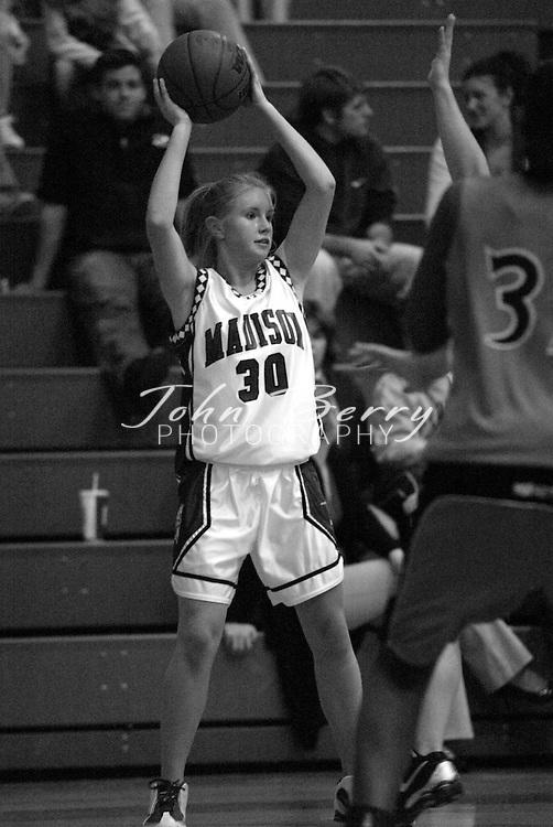 MCHS Varsity Girls Basketball..vs Orange..Fourth Period..December 18, 2004