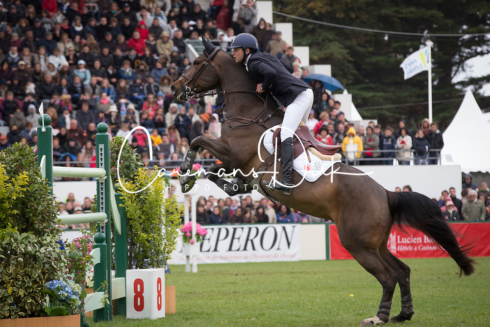 Bluman Daniel (COL) - Sancha LS<br /> Grand Prix Longines de la Ville de La Baule<br /> CSIO La Baule 2013<br /> © Dirk Caremans