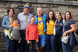 John Coughlan from Westport <br /> on his way to the Croke park for the All Ireland quarter final replay with his Roscommon cousins.<br /> Pic Conor McKeown